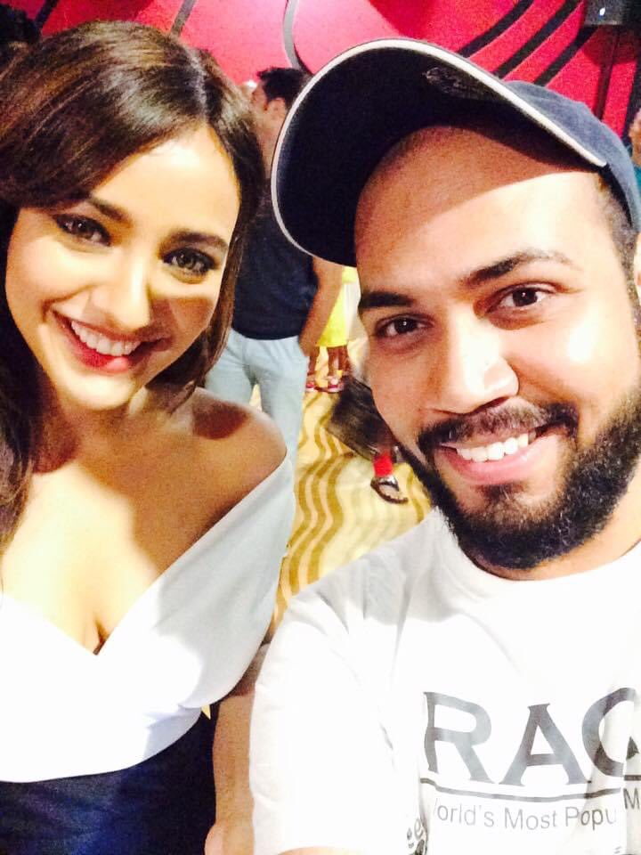 Happy birthday my scorpion beauty @Officialneha! Thankfully found a different pic of ours from #Kriti's premiere this time, keep shining! See me soon now ♥️  #HappyBirthdayNehaSharma