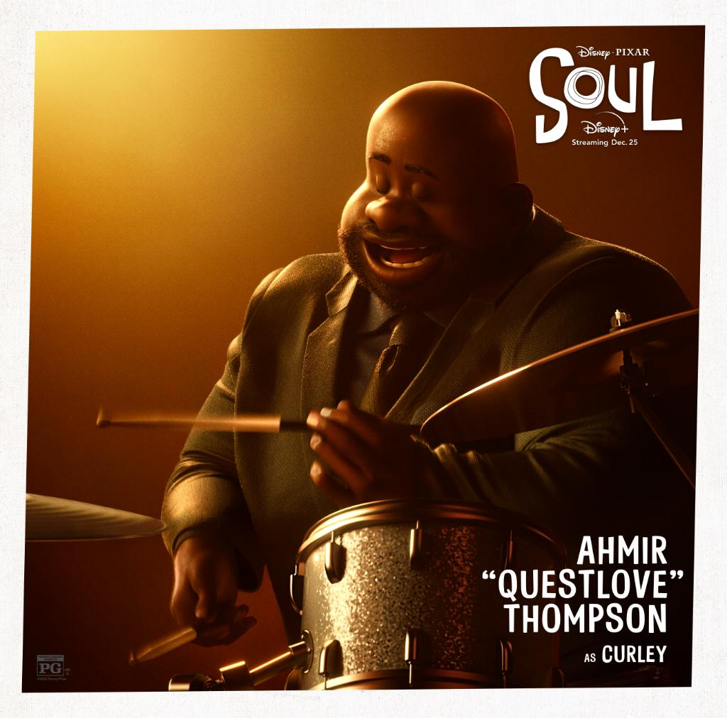 Presenting the Dorothea Williams Quartet from Disney and Pixar's Soul. 🎹🎷🥁🎻 Streaming only on #DisneyPlus this December 25.