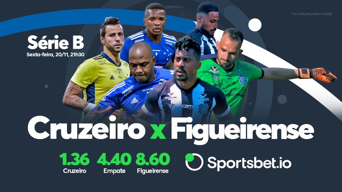 Série B passando na sua timeline! #Cruzeiro e #Figueirense! A briga é na parte de baixo da tabela. Qual time vai conseguir a vitória e subir na classificação? Bora lá no site deixar sua aposta: https://t.co/RRBY6NypD4 https://t.co/mf6ft5hJhY