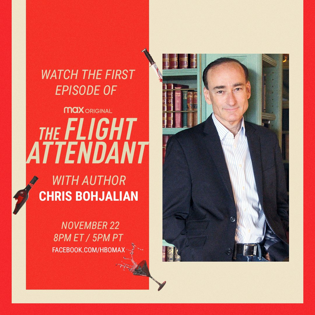 Join me Sunday: let's watch The @FlightAttendant together! Visit @hbomax's Facebook page at 8 ET to watch. I love the series and am so grateful to #KaleyCuoco  @suemack8 & @SleepyPanda76. Wait til you see the magic they've created. The series streams Thanksgiving.  @VintageAnchor