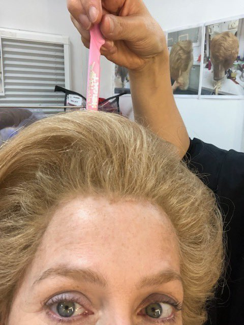 An ode to my wig(s) @TheCrownNetflix