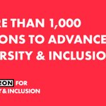 Image for the Tweet beginning: #Diversity and #inclusion is not