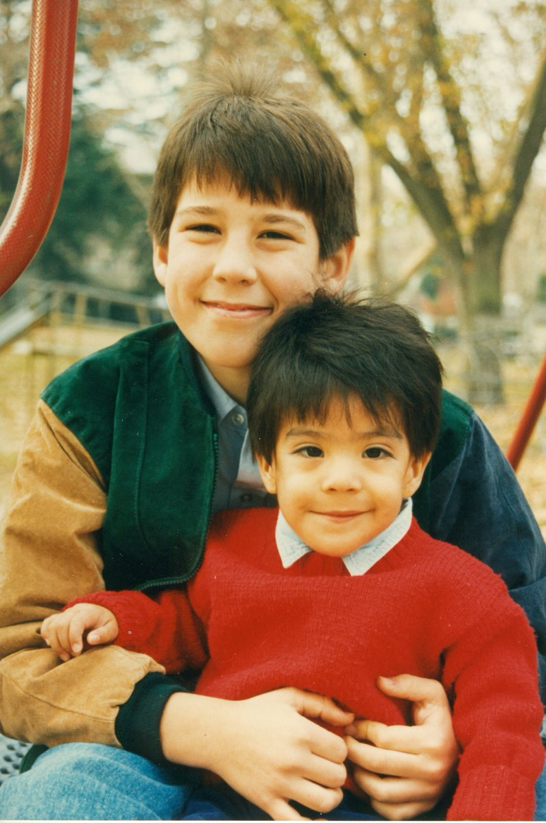 My family was blessed when my little brother David joined our family. But adoption is far too expensive. On #NationalAdoptionDay we have to commit to making sure loving families can afford to adopt kids who need a home.