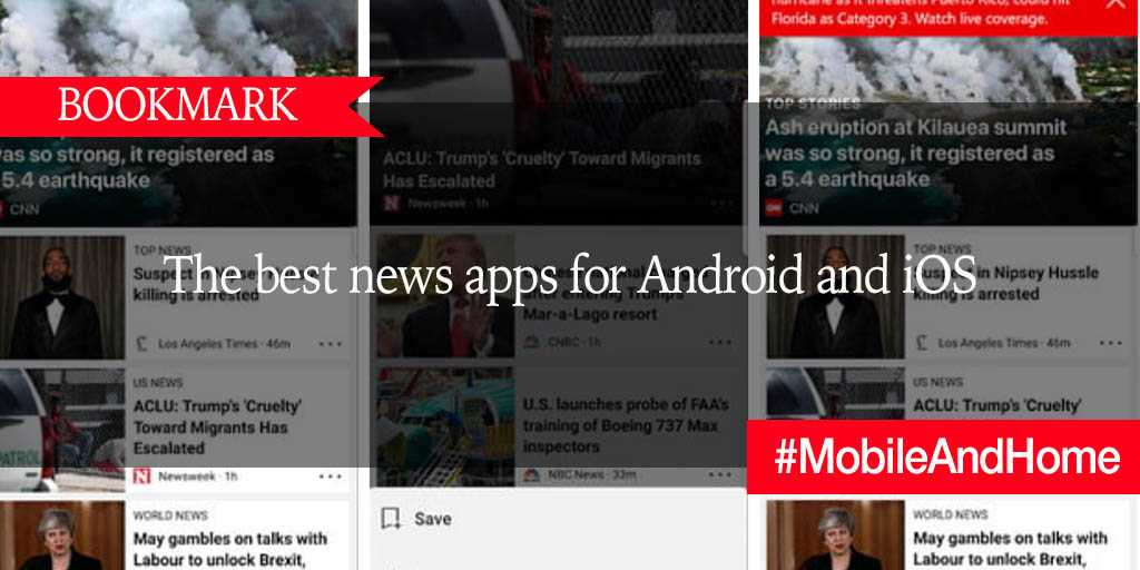 BOOKMARK: The best news apps for Android and iOS https://t.co/VhSChvbncf #MobileAndHome https://t.co/vDzRFJ7qoE