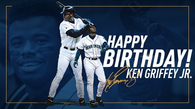Let s all wish a happy birthday to the one and only, Ken Griffey Jr.!