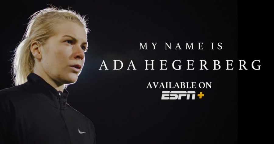 """Norwegian soccer star @AdaStolsmo discusses her fight for equity in women's sports in a new documentary streaming now on ESPN+  @SarahSpain interviewed her for @espnW & says, """"Ada Hegerberg is a fascinating study in modern female sports stardom."""""""