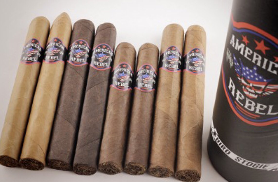 American Rebel Cigars now has FREE domestic US shipping and can now ship Internationally. AND this weekend use the coupon code: REBEL5 and you will receive $5 off any AR order. Check it out here https://t.co/LiaSr1DL4Z https://t.co/fUkfW7twT9