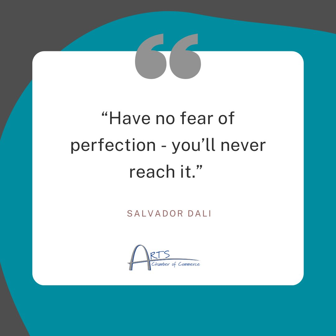 """Have no fear of perfection, you'll never reach it"" - Salvador Dali #Artspiration"