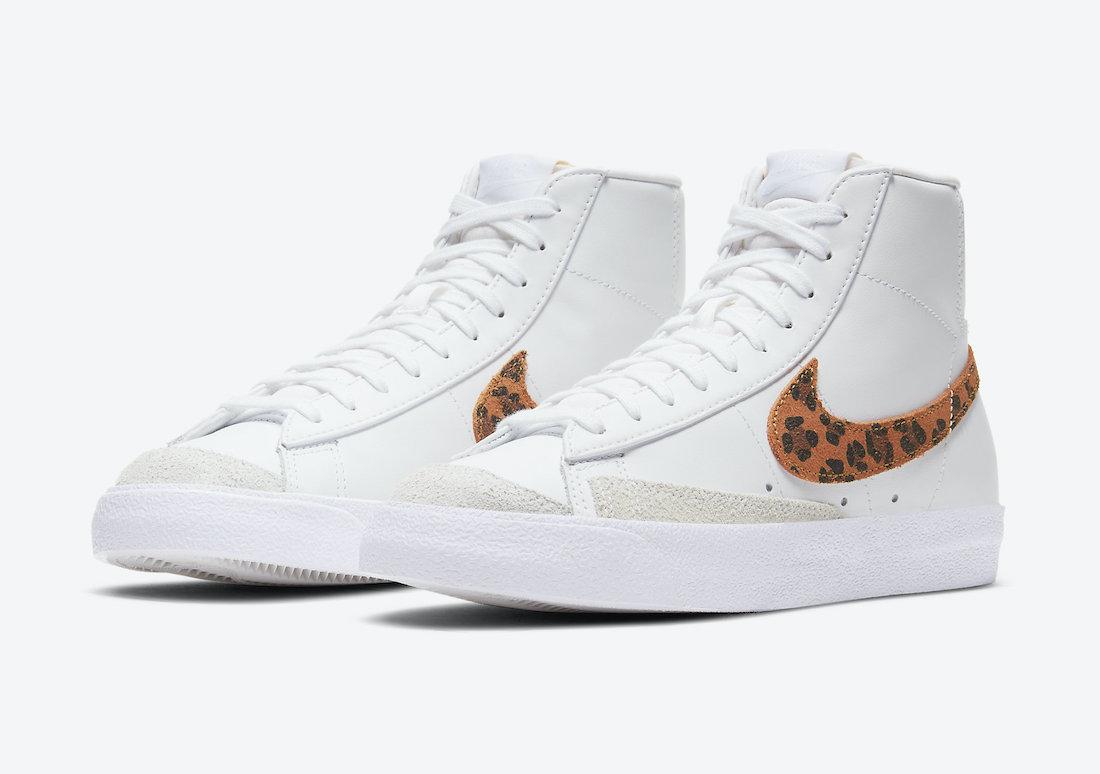 We're getting some leopard suede swoosh Nike Blazer Mid. 🐆