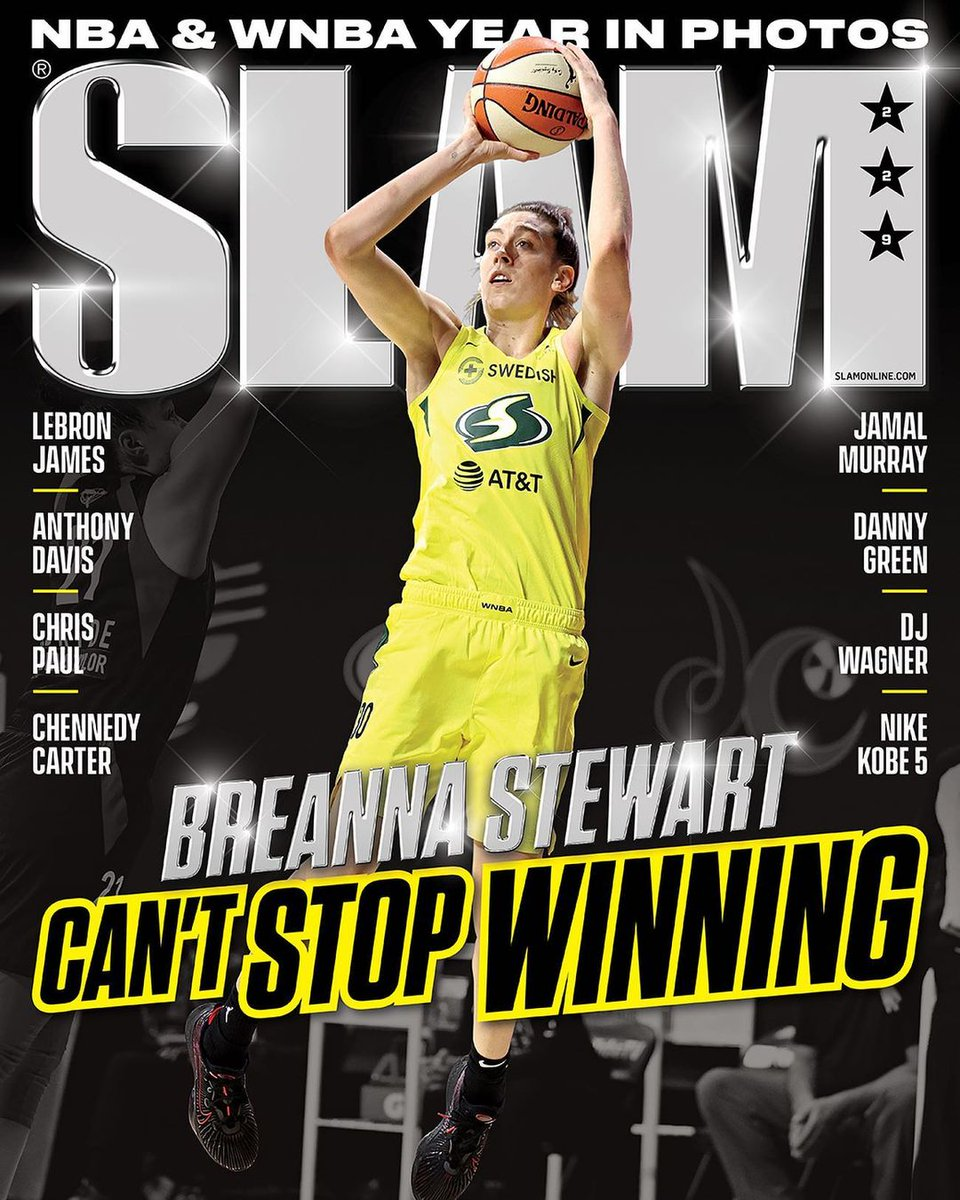 """Hey Siri, name an award @breannastewart hasn't won.""  Siri: ""I'm sorry, I couldn't find any."" 😎🏆  The Finals MVP is on the cover of Slam Magazine! Check it out here 🔽    #StrongerThanEver"