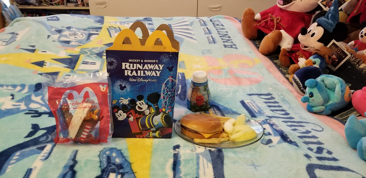 Guess What I Got From McDonald's Today! It's A McDonald's Happy Meal Featuring Mickey And Minnie's Runaway Railway At Walt Disney World!  #McDonalds #HappyMeal #HappyMealToys  #MickeyAndMinniesRunawayRailway  #MouseRulesApply #MickeyMouseShorts    #WaltDisneyWorld   #MickeyMouse