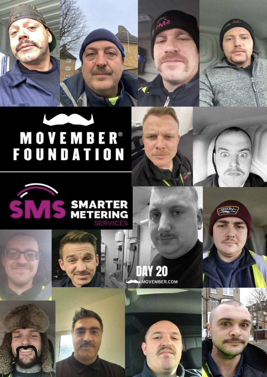 We set the target of £1k, we smashed that in the first few days and we are currently at £1600!! We are so very proud of all of the below, and more who have taken part in #movember well done #teamsmarter!  #mentalhealthawarness #mentalhealthmatters #mentalhealthatwork