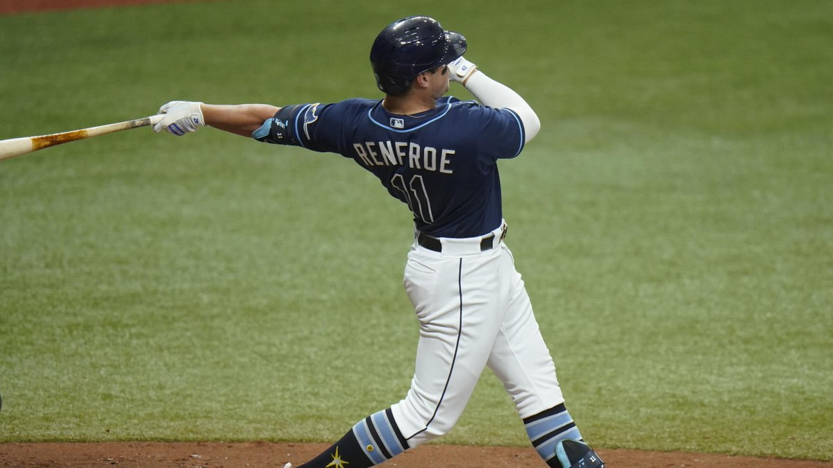 Outfielder Hunter Renfroe has been designated for assignment, per Rays team announcement.