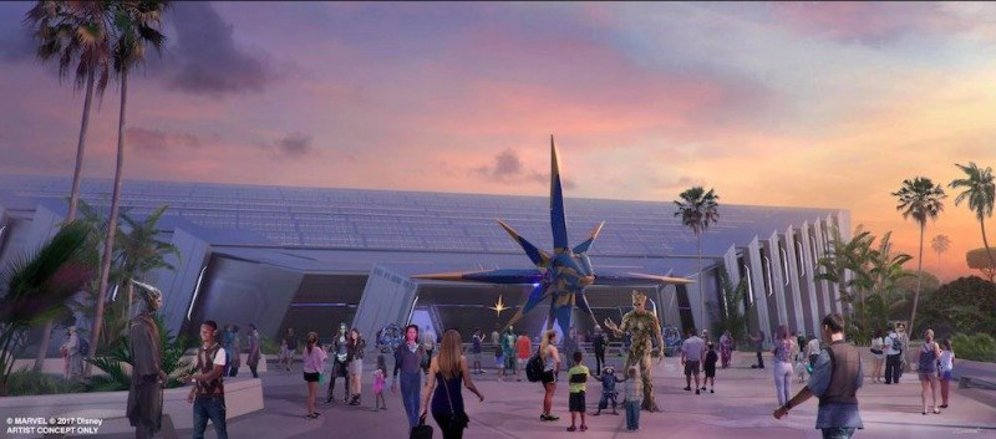 🎉Milestone Reached for EPCOT Guardians of the Galaxy Attraction!🎉    #Epcot #DisneyWorld #WaltDisneyWorld #WDW #D23FantasticWorlds