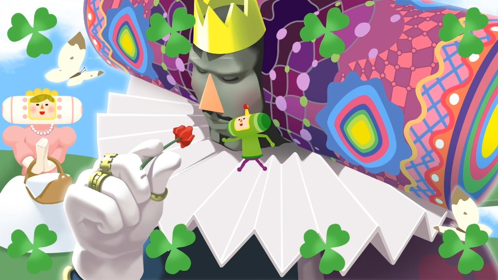 """I see you're a Prince of culture as well...""  MFW meeting another #Katamari fan. 🌹  Katamari Damacy REROLL is out now:"
