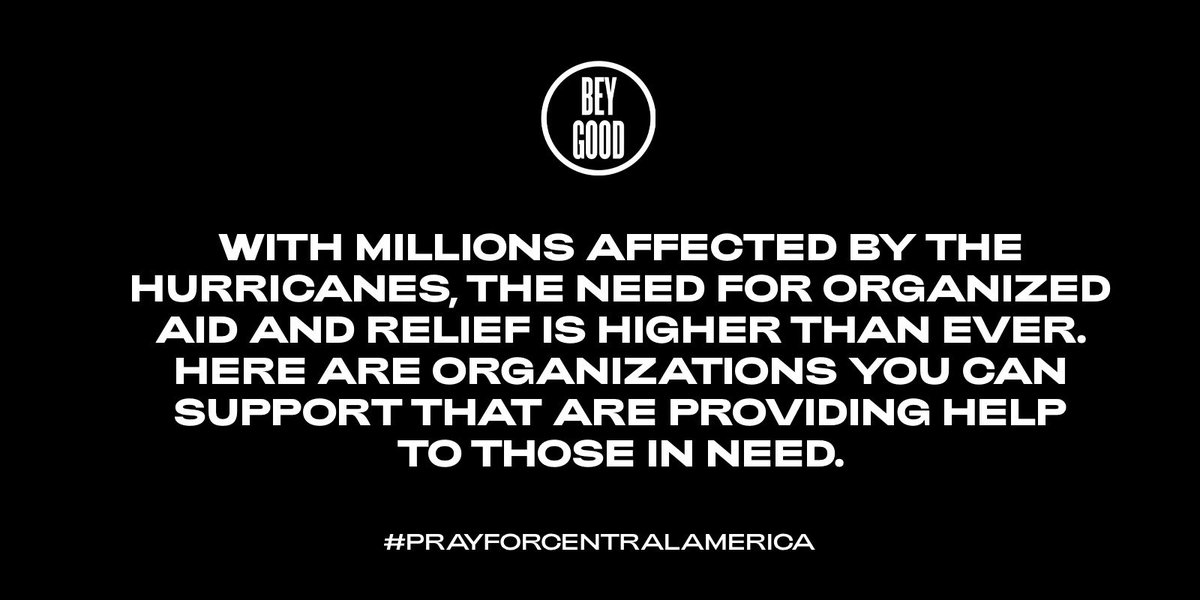 Click the link for ways to support our brothers and sisters in Central America #PrayForCentralAmerica