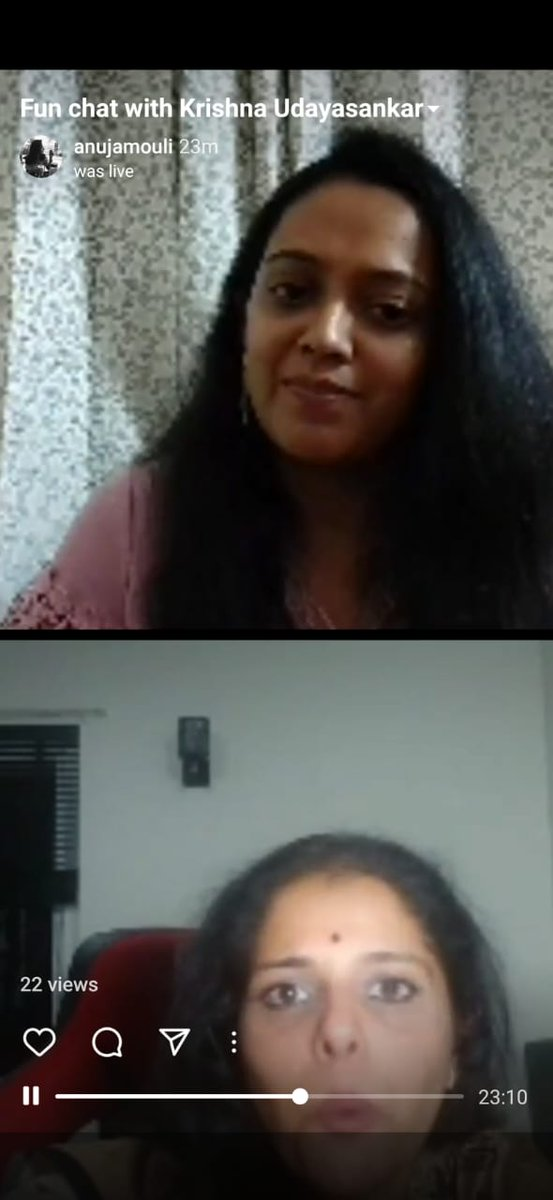 Really enjoyed the session with the extremely fabulous @krisudayasankar We discussed her latest book, The Cowherd Prince and so much more!  Do watch 👇   @PenguinIndia @PenguinBooks