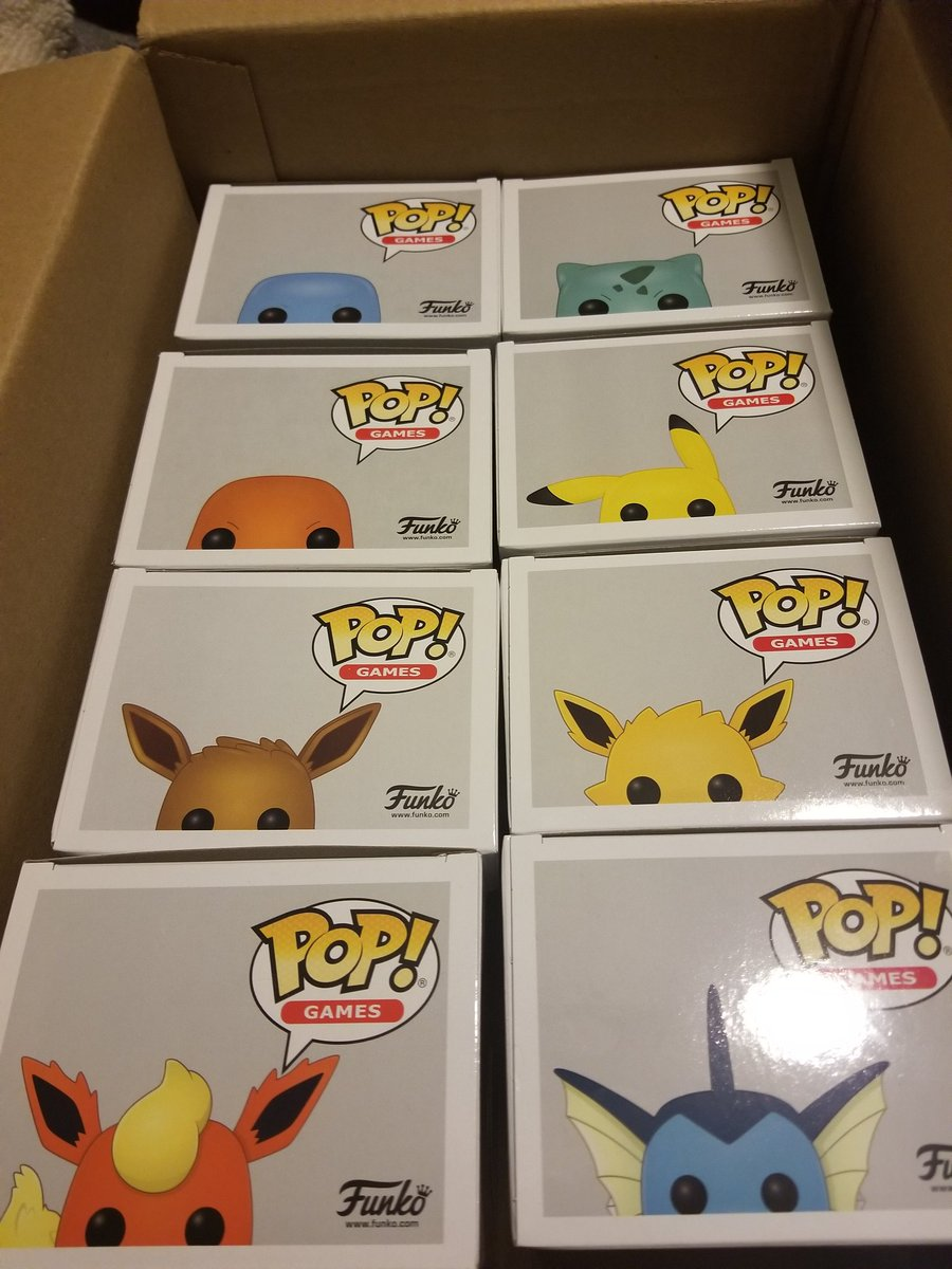 Chappie - In the process of moving to our new place, been looking for some stuff to decorate and @synnpai caught these little rascals lurking around and threw em in a box for me! Super happy they gunna look cool with the #pokemon collection, thanks babe!