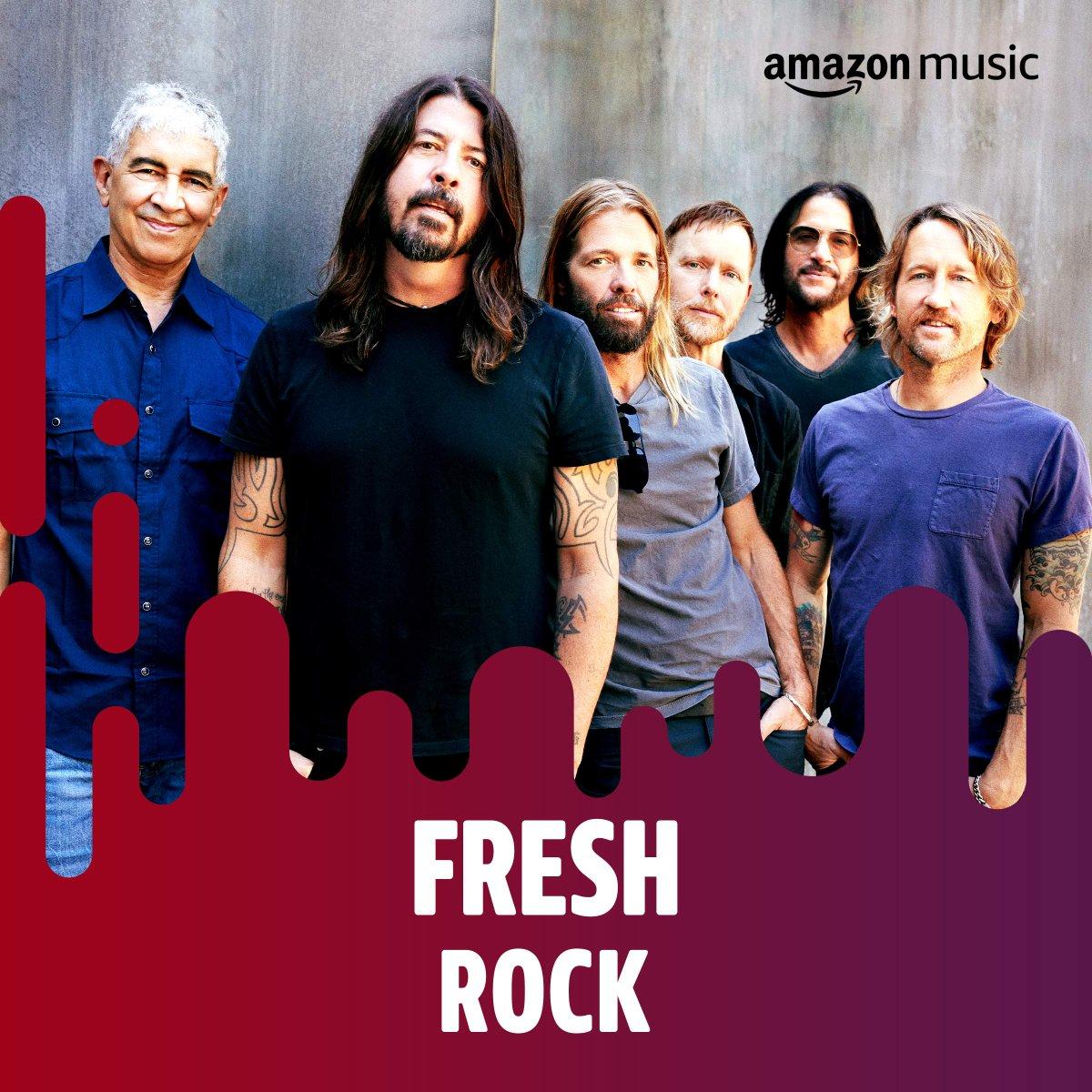 Fresh Rock on @amazonmusic to start your weekend 👇   #ShameShame