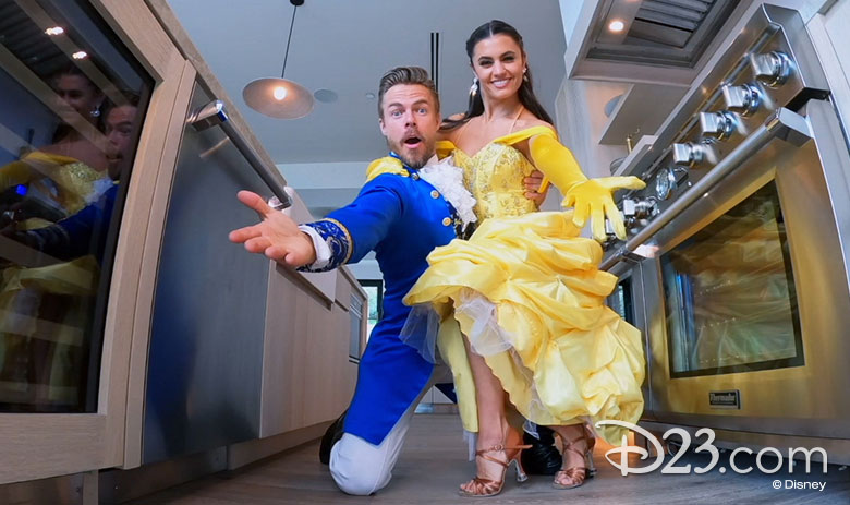 .@DerekHough dishes on #DWTS, working with Tyra Banks, joining High School Musical: The Musical: The Series, and making magic for The #DisneyHolidaySingalong:  #D23InsideDisney