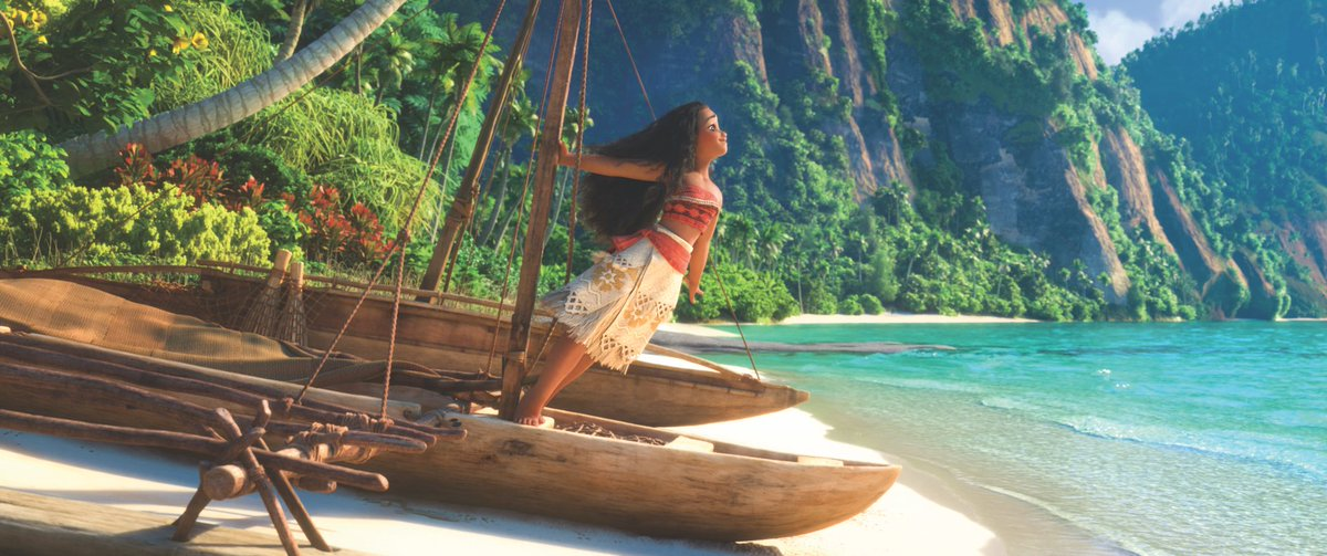 There's no telling how far she'll go! Happy anniversary to Moana, which debuted in theaters on this day in 2016.
