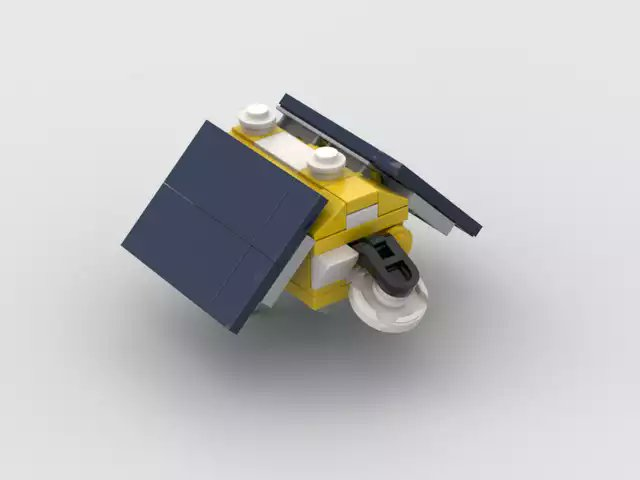@NASA I just wrapped up a lego model of the satellite. I'm excited for the launch tomorrow!