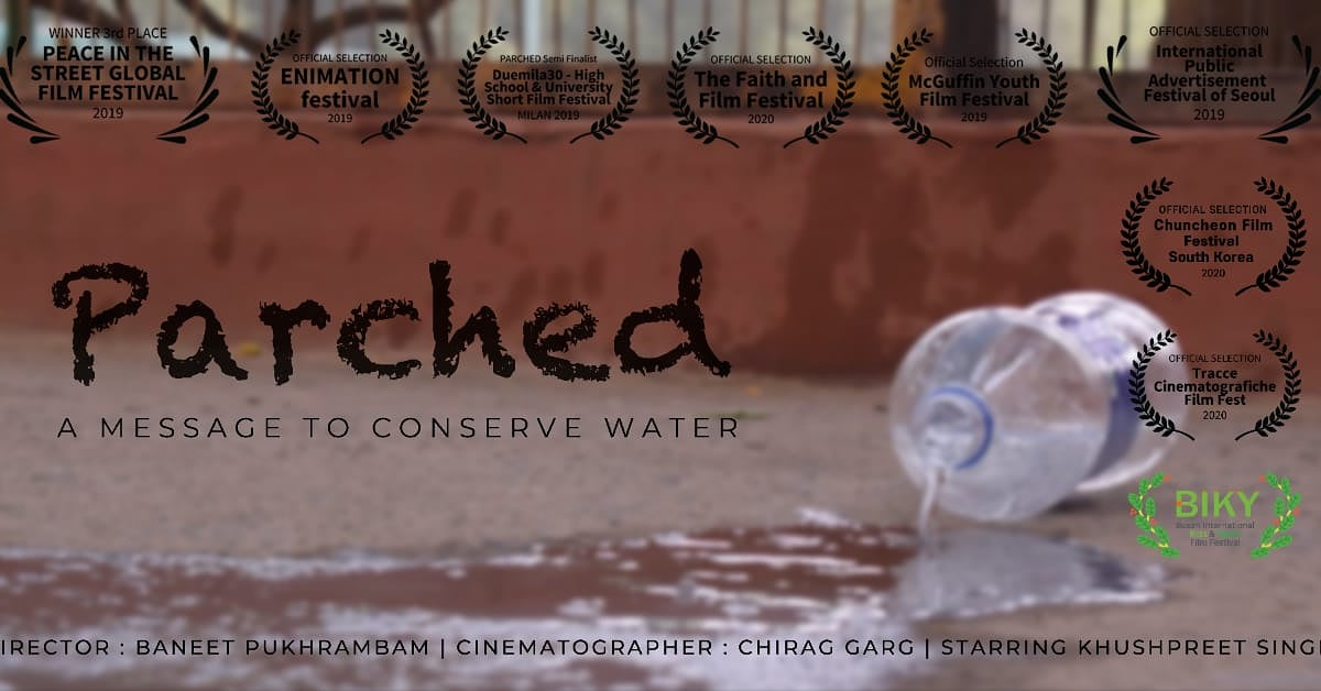 TIS pledge to Save water Parched-A movie showcasing a dystopian future when water is scarce. Getting clean water will be difficult and costly. If we don't use water judiciously now, we will end up living in this future.link-   #merijalpratigya @cnnnews18