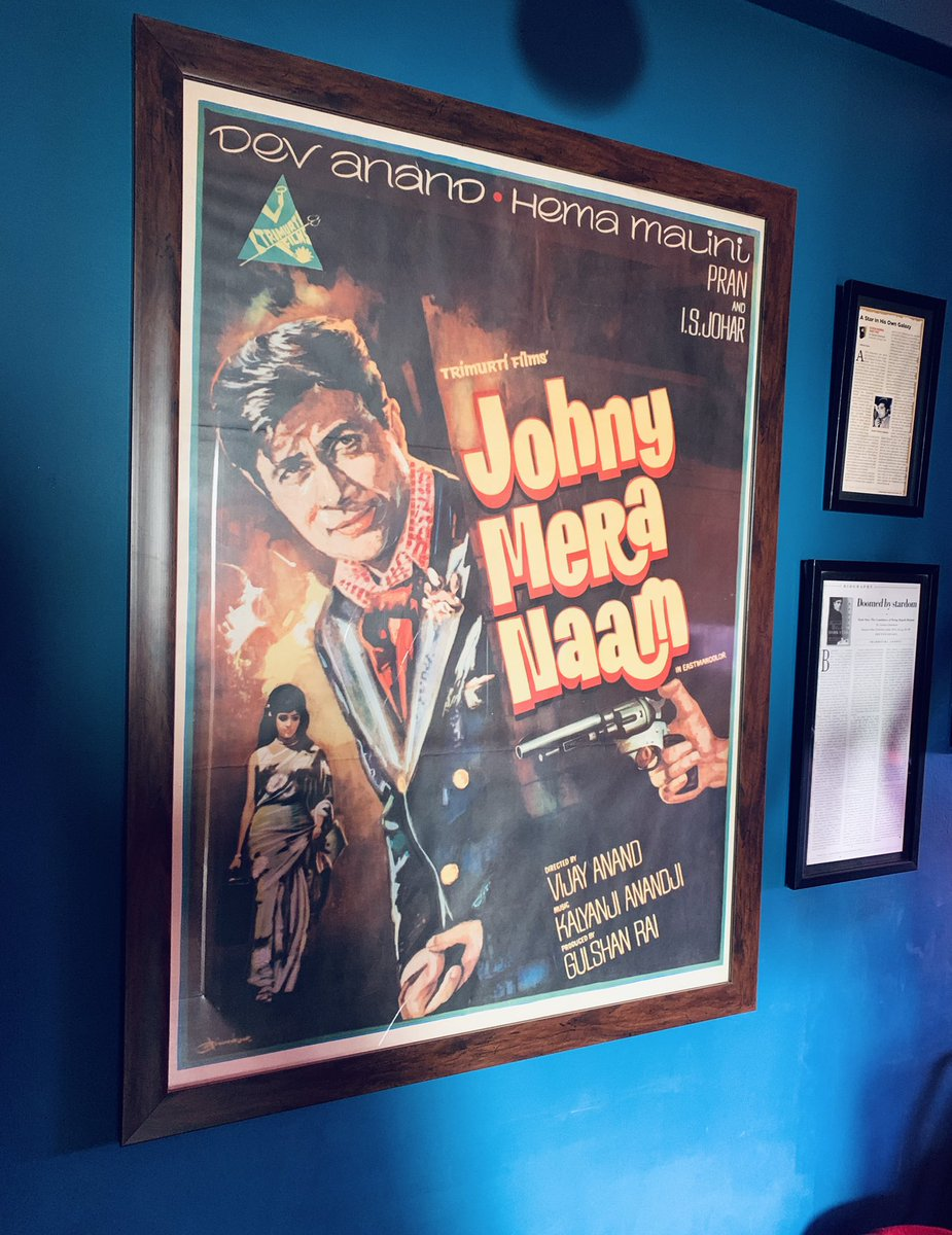 50 and still going strong. Vijay Anand's 'Johny Mera Naam' came at the height of #RajeshKhanna's popularity and also had a clash of sorts with Raj Kapoor's 'Mera Naam Joker.'  A tour de force, it's remarkable how the mise en scène remains vibrant even after fifty-years.