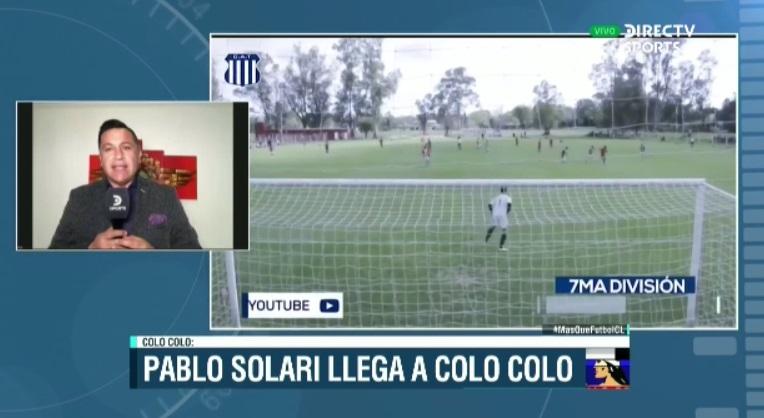 Pablo Solari es nuevo jugador de @ColoColo. Detalles con @hermanchanampa en #MásQueFútbolCL  👉