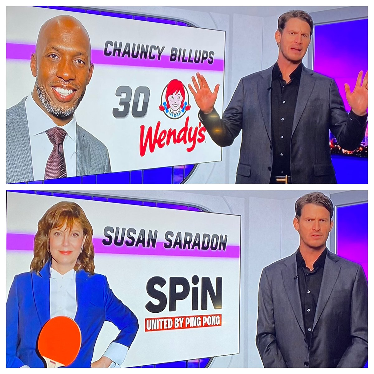 "Let me guess ⁦@danieltosh⁩, your Dept.of Spellcheck already skedaddled to the ""new network""? Chauncey and Sarandon fully embrace #seasonofmourning. P.S. Aye Luhv Ewe."