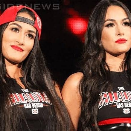 Happy birthday WWE superstars the Bella twins Nikki bella Brie bella 37th years