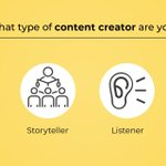 Image for the Tweet beginning: Anyone can create content but
