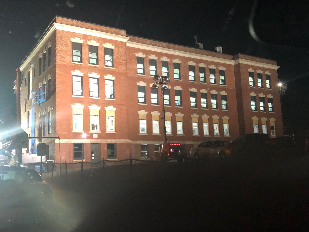 """Fall River Public Schools Supt on Twitter: """"All in a nights work"""