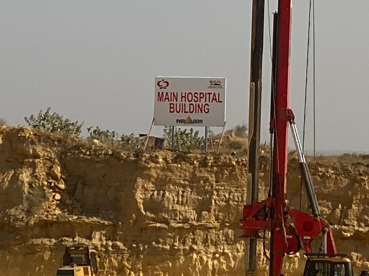 I have this great feeling watching construction start on SKMT Karachi. InshaAllah, it will be the biggest cancer hospital in Pakistan as well as being equipped with the latest machines.