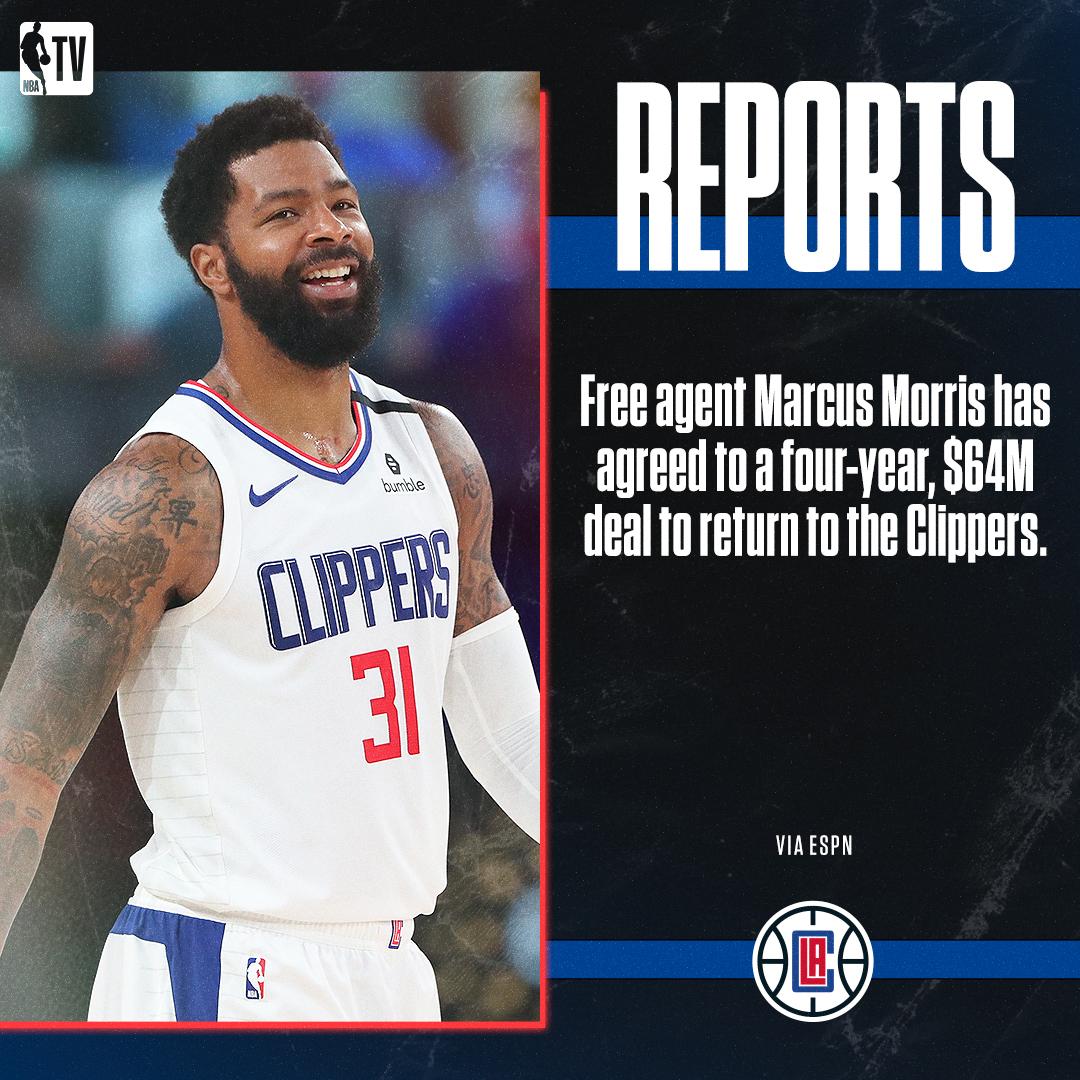 @NBATV's photo on Marcus Morris