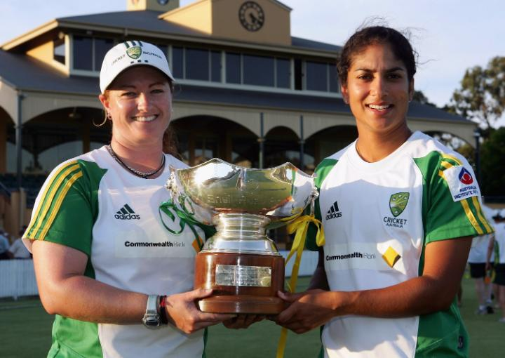 "🗣️ ""She was one of the most powerful strikers. A player before her time.""  Lisa Sthalekar has a huge amount of respect for Karen Rolton, a pioneer in women's cricket 🙌  On Rolton's birthday, watch her former batting partner talk about her everlasting legacy 📽️"