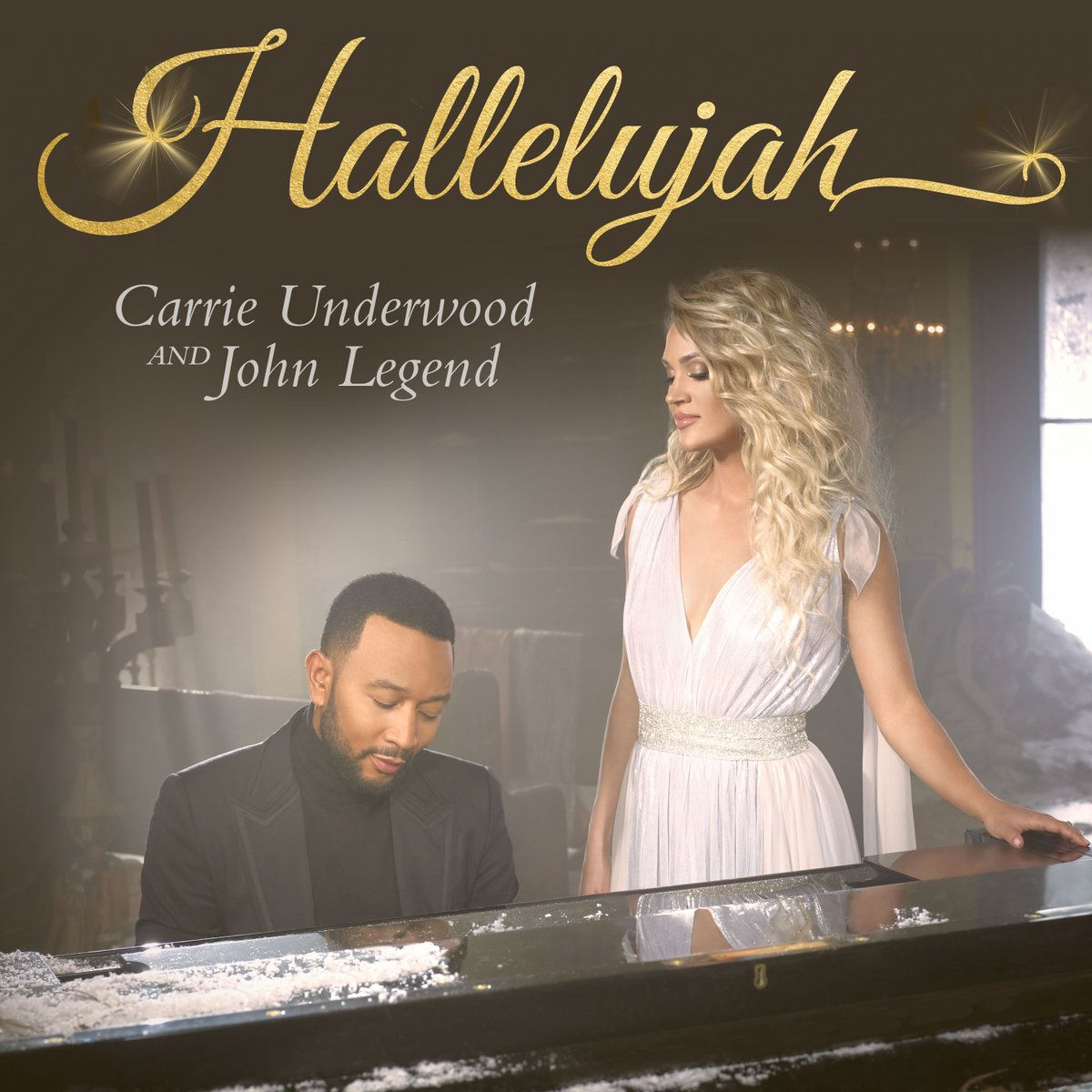The official music video for #Hallelujah with @johnlegend is now available on Carrie's YouTube channel! #MyGift 🎁✨ Check it out:  -TeamCU