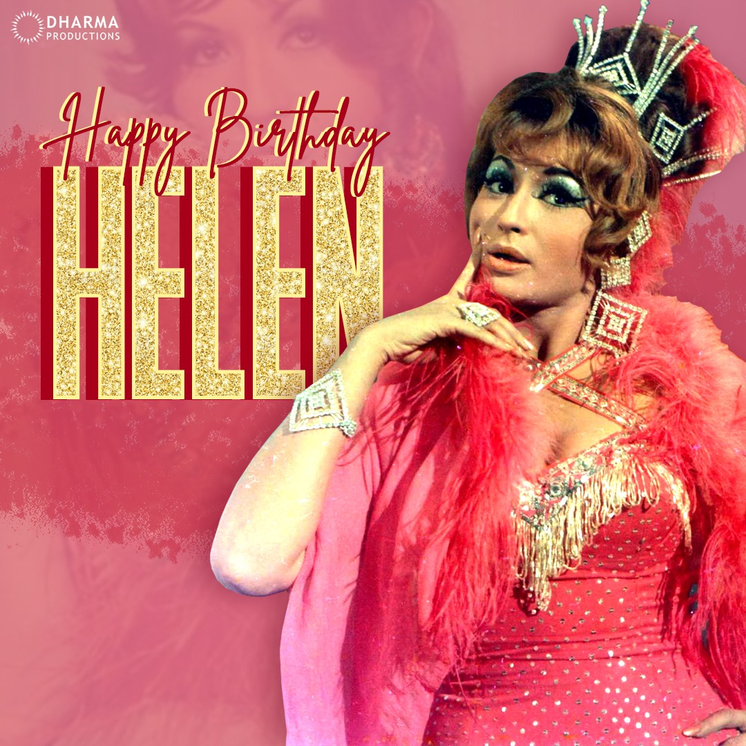 Wishing the evergreen #Helen a very happy birthday!✨