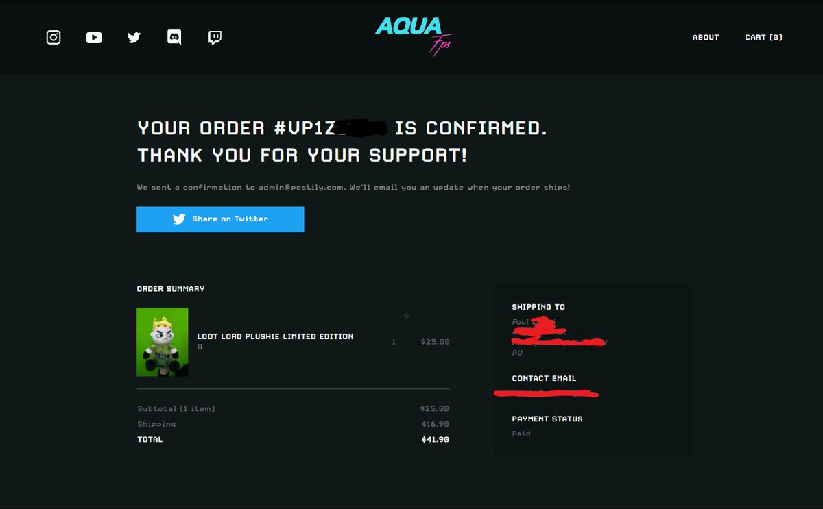 Pestily - Supporting my Son @AquaFPSgaming