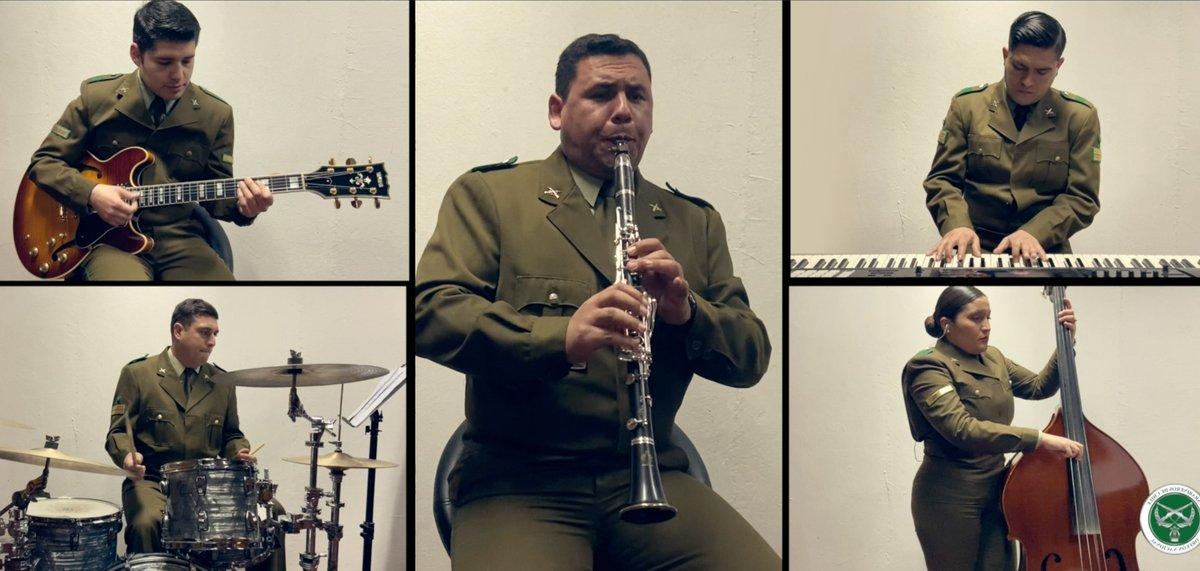 Mira esta gran presentación del Quinteto de Jazz del Orfeón Nacional de Carabineros, con la cual celebramos y enviamos un afectuoso saludo en el Día Internacional del Músico. Sigue este enlace de nuestro canal de Youtube: https://t.co/dWhu4PqoBl https://t.co/Jamwucrurf