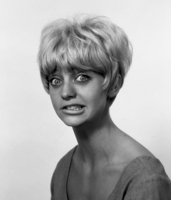 My unwavering love for Goldie Hawn, one of the most talented actors ever. Happy birthday Goldie.
