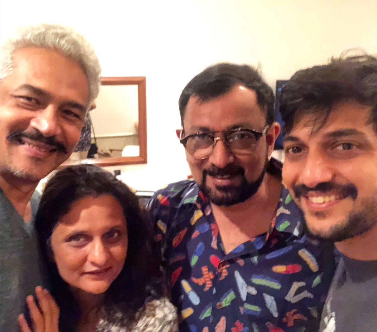 Replying to @Chemburstudio: Several takes & We managed a selfie 🤳  Atul Kulkarni Geetanjali Kulkarni Tejas Modak  #kochi