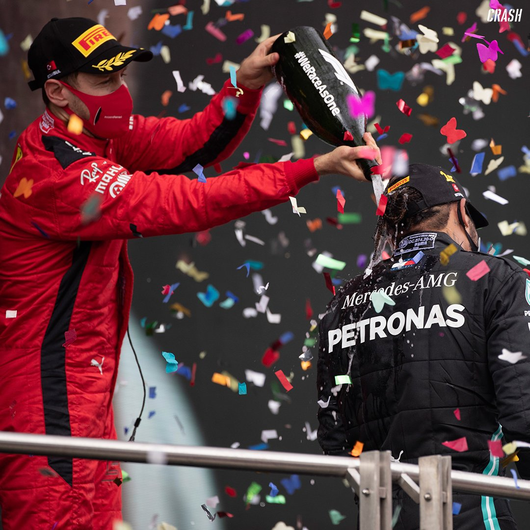 #DidYouKnow Lewis Hamilton & Sebastian Vettel have stood on the podium with one another 56 times, more than any other pairing in Formula One history!! 🏆  #F1 https://t.co/3Ofz1sdqor
