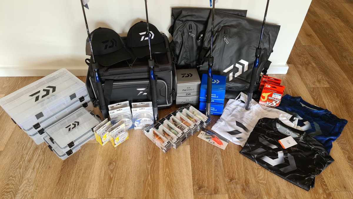 Pestily - Daiwa coming in with the goods! Thanks for the hook up! Gonna be buzzing out on the ski tomorrow and will trial some of the gear!