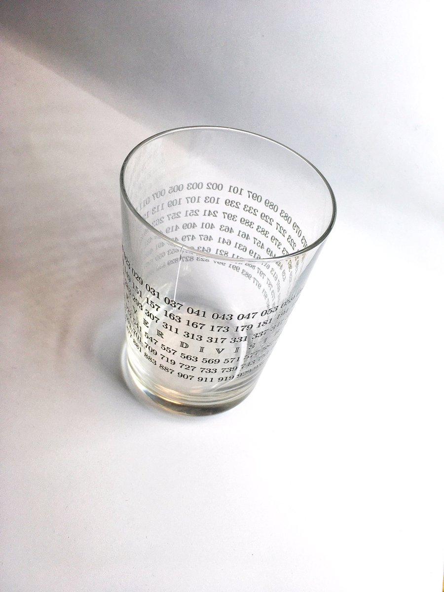 【悲報】割れない素数グラス、割れる。割り切れない思い。