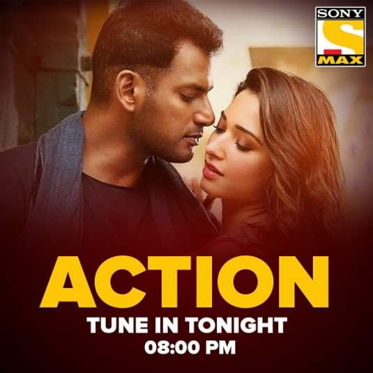 Thrill aur excitement ke liye ho jao taiyyar! Watch Subhash's story 'Action', tonight at 8 PM, only on Sony MAX. #ActionOnSonyMAX