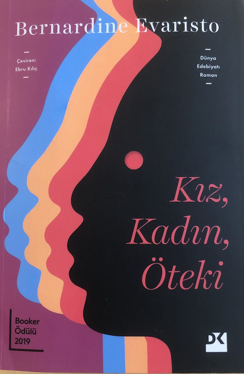 Girl, Woman, Other out now in Turkish with @dogankitap. Translated by Ebru Kilic. Cover by Garay Gencer.