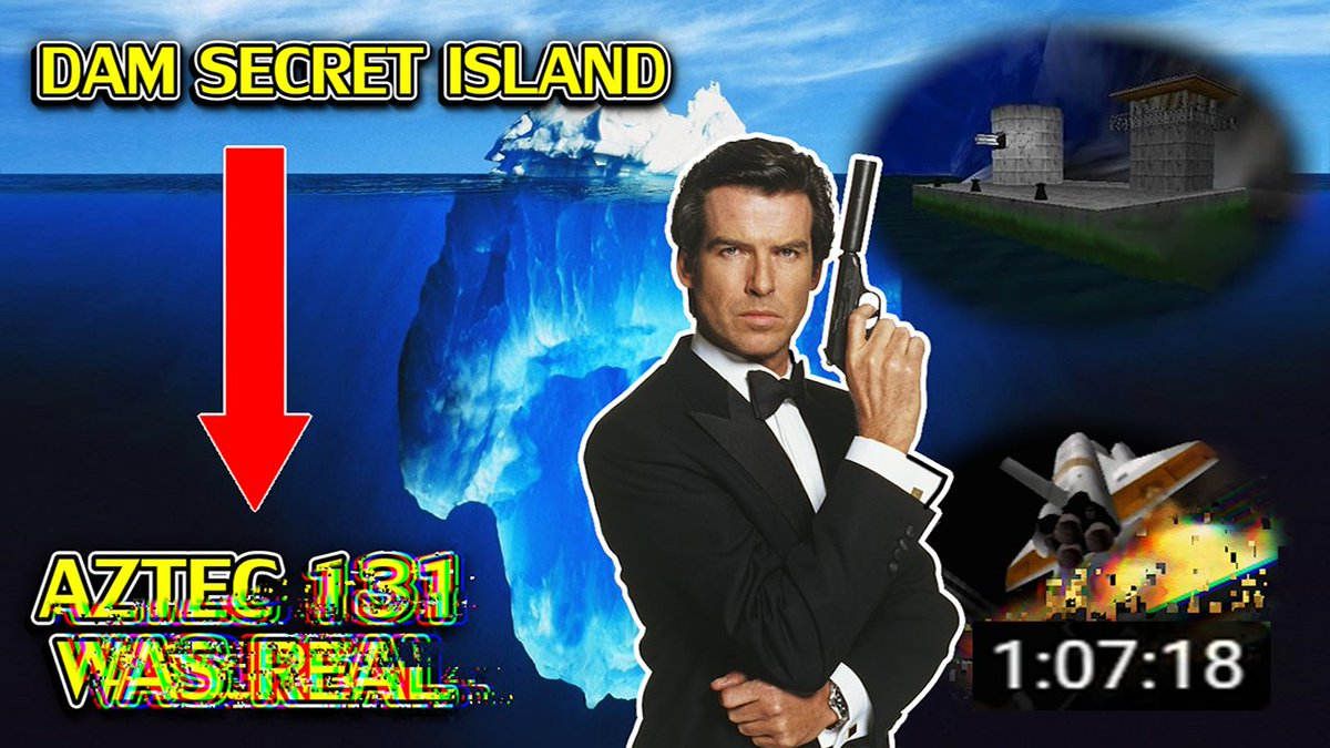 RWhiteGoose - Wow, it's the GoldenEye 007 Iceberg EXPLAINED!    I hope it keeps you some company on this fine weekend.   Have a great day everyone!