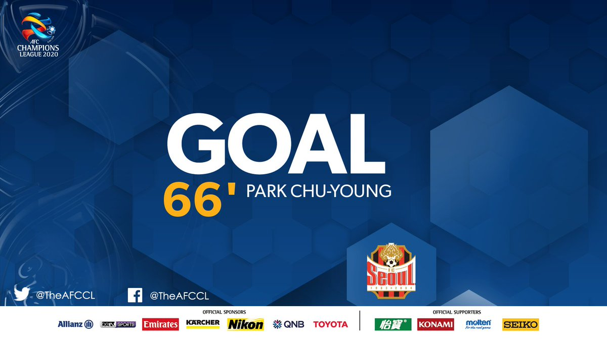 GOAL! | 🇰🇷 @FCSEOUL 1-2 Beijing FC 🇨🇳  💥 Park Chu-young converts from the spot to narrow Beijing's lead. Can Seoul complete the comeback?  #FCSvBJG | #ACL2020