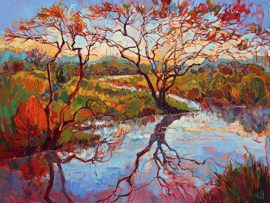 'Madrona Marsh' by Erin Hanson, contemporary US painter #womensart